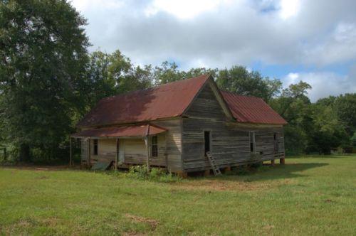Draneville GA Marion County Vernacular Farmhouse Photograph Copyright Brian Brown Vanishing South Georgia USA 2015
