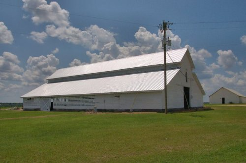 Excelsior GA Candler County Everett DeLoach Barn Circa 1900 Photograph Copyright Brian Brown Vanishing South Georgia USA 2015