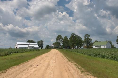 Excelsior GA Candler County Historic Everett DeLoach Farm Photograph Copyright Brian Brown Vanishing South Georgia USA 2015