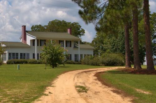 Excelsior GA Candler County Josh Everett House 1860s Photograph Copyright Brian Brown Vanishing South Georgia USA 2015