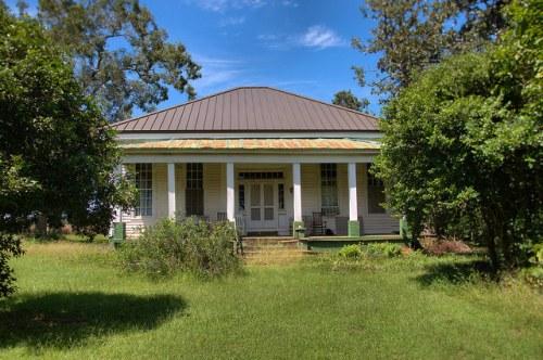 John Teel House Sumter County GA Antebellum Landmark Photograph Copyright Brian Brown Vanishing South Georgia USA 2015