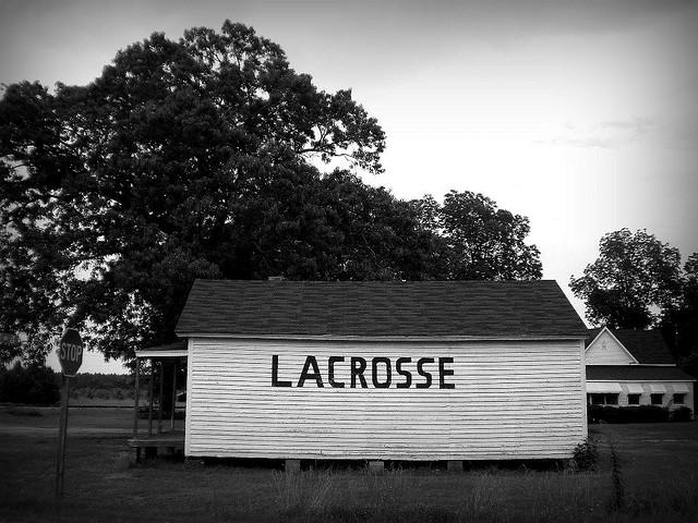 LaCrosse GA Schley County Burt Store Mural Photograph Copyright Brian Brown Vanishing South Georgia USA 2009