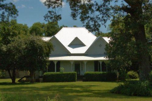 LaCrosse GA Schley County C H Burt Farm House Photograph Copyright Brian Brown Vanishing South Georgia USA 2015