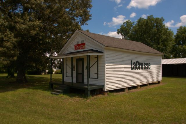 LaCrosse GA Schley County C H Burt Store Photograph Copyright Brian Brown Vanishing South Georgia USA 2015