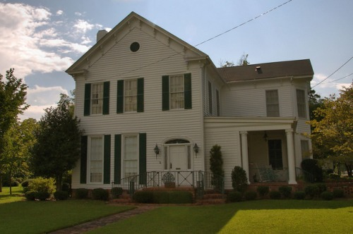 Millen GA Italianate House Photograph Copyright Brian Brown Vanishing South Georgia USA 2015