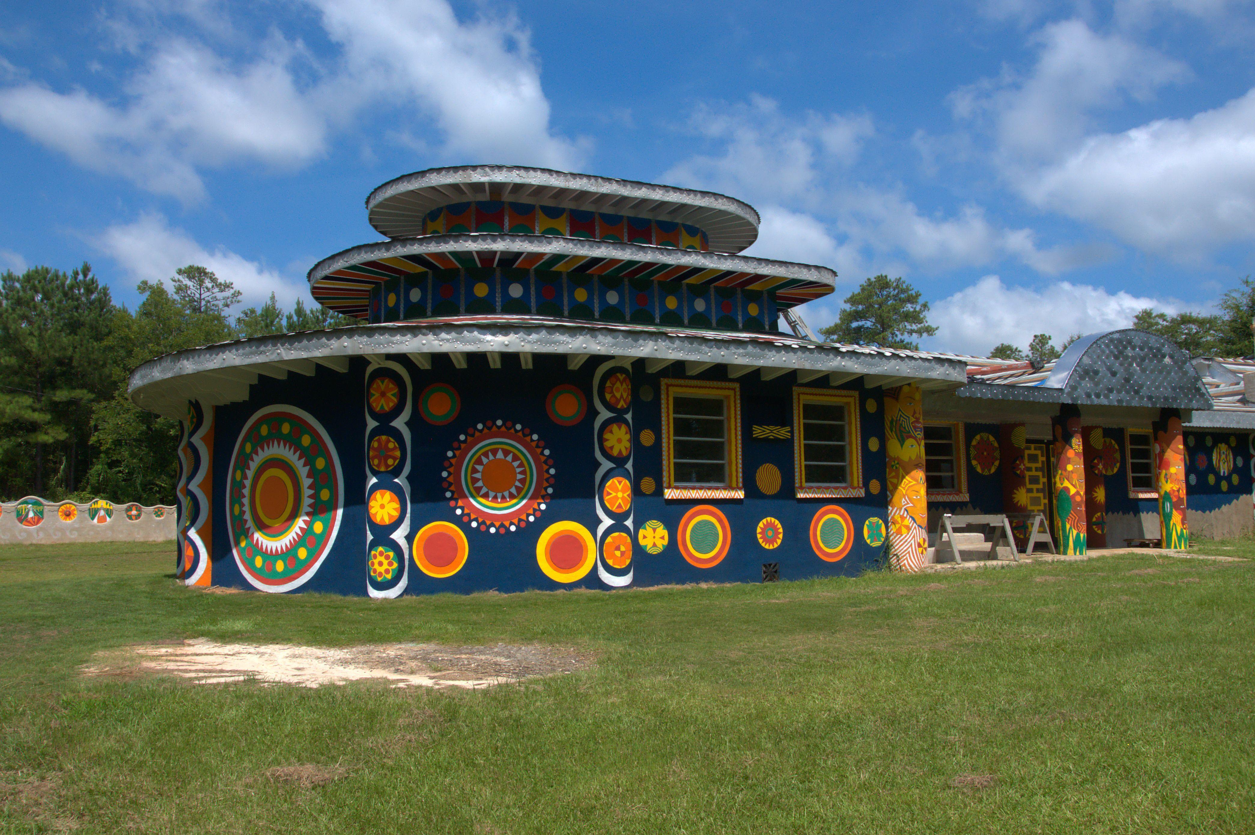 Pasaquan Buena Vista GA Whimsical Architecture St EOM Photograph Copyright Brian Brown Vanishing South Georgia USA 2015