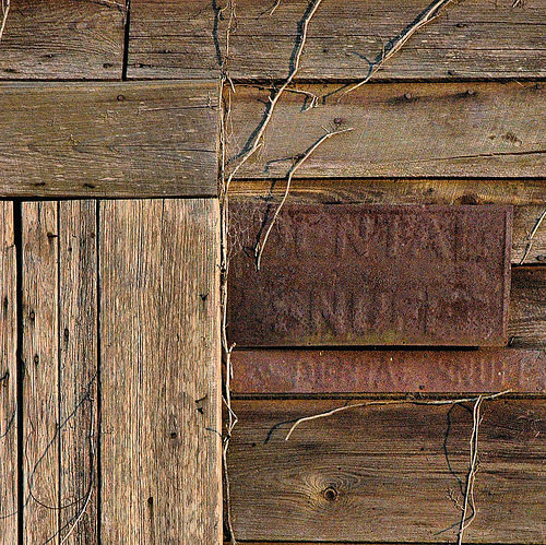 Abandoned Country Store Brooks County GA Dental Snuff Rusty Sign Photograph Copyright Brian Brown Vanishing South Georgia USA 2015