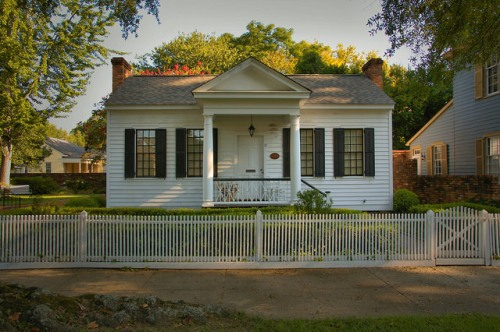 Coca Cola Inventor Dr John Stith Pemberton House Columbus GA Photograph Copyright Brian Brown Vanishing South Georgia USA 2015