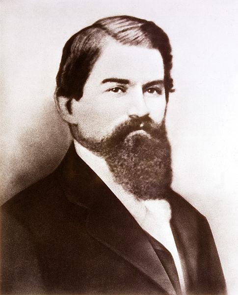 Dr. John Stith Pemberton Columbus GA Inventor of Coca Cola Public Domain Image
