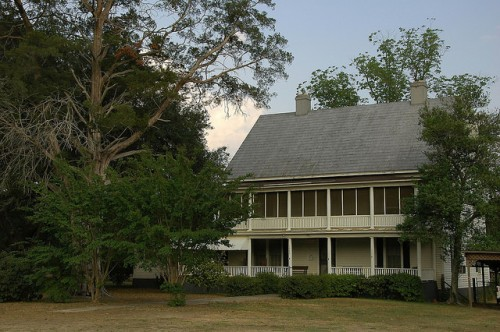 Captain R W Clements House Irwinville GA Photograph Copyright Brian Brown Vanishing South Georgia USA 2015