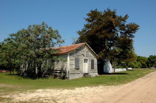 Groveland GA Warnell Family Farm Movie Set Photograph Copyright Brian Brown Vanishing South Georgia USA 2015