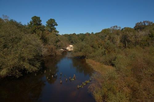 Ohoopee River at Cowford Photograph Copyright Brian Brown Vanishing South Georgia USA 2015