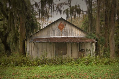 Brewer Popes Store Popes Millpond Brooks County GA Photograph Copyright Brian Brown Vanishing South Georgia USA 2015