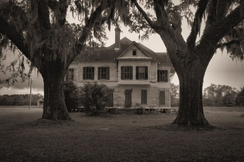 Brooks County GA Historic Farmhouse Photograph Copyright Brian Brown Vanishing South Georgia USA 2015
