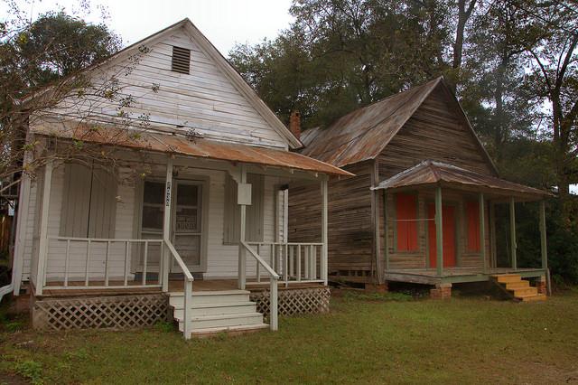 Historic Metcalfe GA Vernacular Storefronts Photograph Copyright Brian Brown Vanishing South Georgia USA 2015