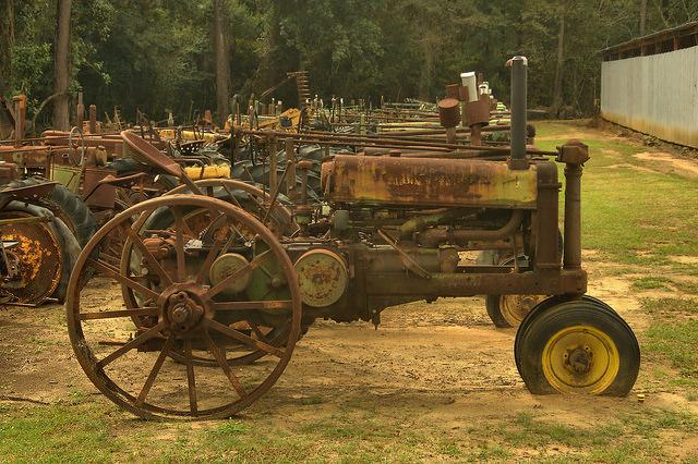 Tractor Salvage Yards : Thomas county ga vanishing south georgia photographs