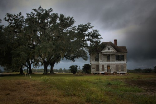 Wasden House Brooks County GA Farm Photograph Copyright Brian Brown Vanishing South Georgia USA 2015