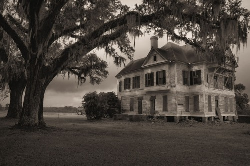 Wasden House Brooks County GA Mossy Oaks Farmland Photograph Copyright Brian Brown Vanishing South Georgia USA 2015