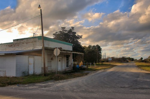 Gresston GA G V Gress Dodge County Old Mercantile Store Photograph Copyright Brian Brown Vanishing South Georgia USA 2015