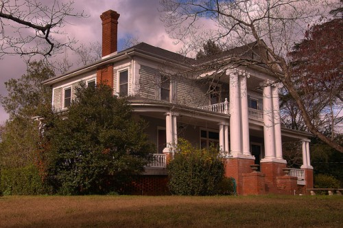 Hillcrest House Cochran GA Bleckley County NRHP Photograph Copyright Brian Brown Vanishing South Georgia USA 2015