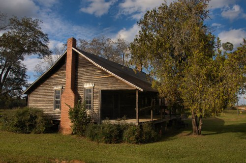 Irwin County GA Historic Vernacular Farm House Photograph Copyright Brian Brown Vanishing South Georgia USA 2015