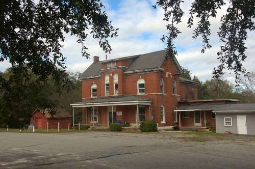 Old Dodge County Jail Eastman GA Golucke Stewart Pauly Jail Building Company Photograph Copyright Brian Brown Vanishing South Georgia USA 2015