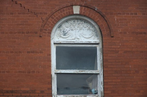 Old Dodge County Jail Eastman GA Window Detail Photograph Copyright Brian Brown Vanishing South Georgia USA 2015
