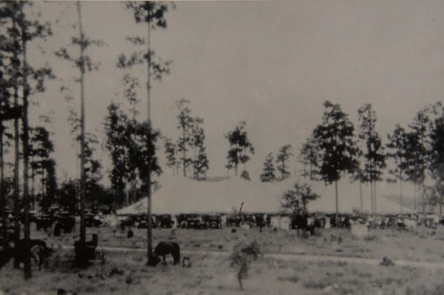 Royal Singing Convention Tent in 1916 Mystic Irwin County GA