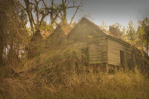 Suomi GA Dodge County Triple Gable House Photograph Copyright Brian Brown Vanishing South Georgia USA 2015