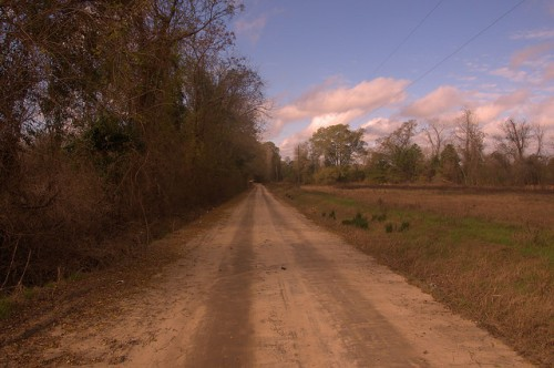 Suomi Road Dodge County GA Photograph Copyright Brian Brown Vanishing South Georgia USA 2015