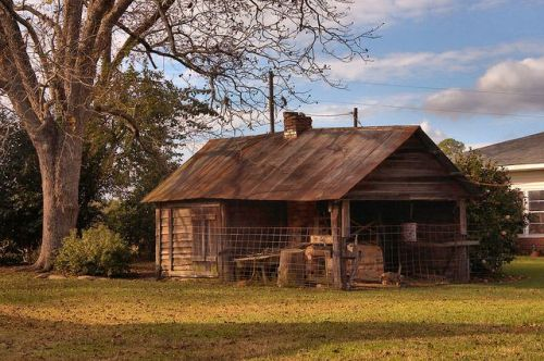 Syrup Making Shed Irwin County GA Photograph Copyright Brian Brown Vanishing South Georgia USA 2015
