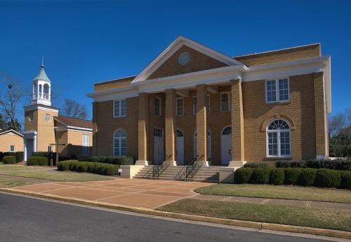 Brown Memorial Baptist Church Wrightsville GA Photograph Copyright Brian Brown Vanishing South Georgia USA 2016