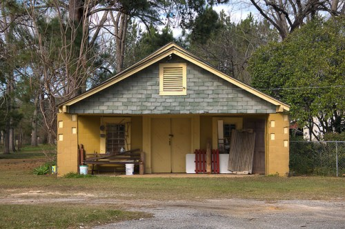 Dickey GA Calhoun County Old Filling Station Country Store Photograph Copyright Brian Brown Vanishing South Georgia USA 2016