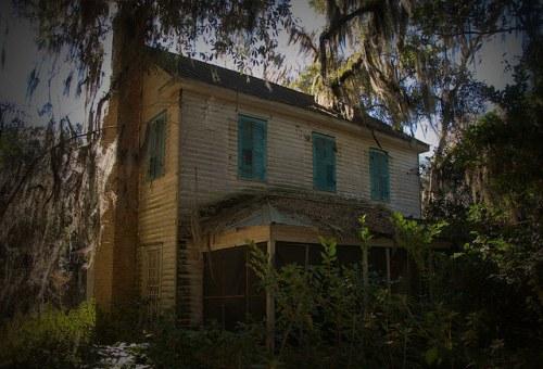 Glen Echo Plantation Bryan County GA Colonial and Antebellum Eras Photograph Copyright Brian Brown Vanishing South Georgia USA 2016