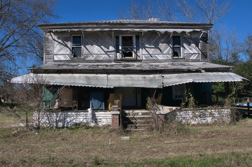 Harrison GA Wshington County House Photograph Copyright Brian Brown Vanishing South Georgia USA 2016