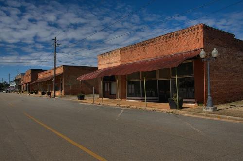 Historic Main Street Parrott GA Photograph Copyright Brian Brown Vanishing South Georgia USA 2016