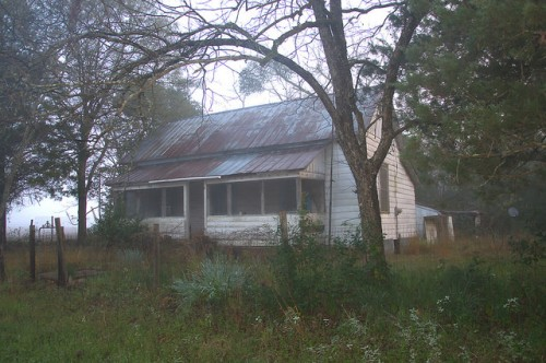 Irwin County GA Big Creek Road Vernacular Farmhouse Photograph Copyright Brian Brown Vanishing South Georgia USA 2015