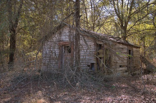 Kite GA Little Ohoopee River Public Swimming Site Outbuilding Photograph Copyright Brian Brown Vanishing South Georgia USA 2016