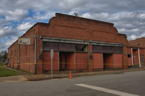 Leary GA Calhoun County Hardware Store Photograph Copyright Brian Brown Vanishing South Georgia USA 2016