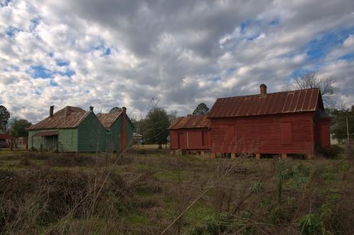 Leary GA Calhoun County Jordan Houses Photograph Copyright Brian Brown Vanishing South Georgia USA 2016