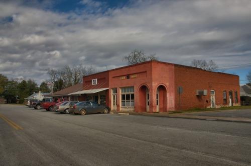 Morgan GA Calhoun County Photograph Copyright Brian Brown Vanishing South Georgia USA 2016