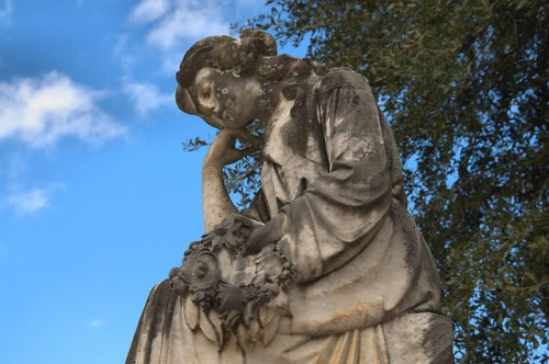 Morgan GA City Cemetery Wooten Sculpture Photograph Copyright Brian Brown Vanishing South Georgia USA 2016