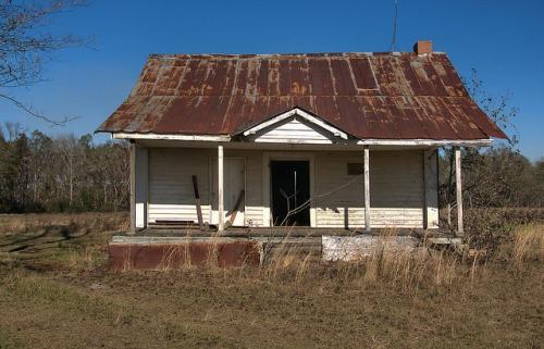New Home GA Johnson County Community Tenant Farmhouse Photograph Copyright Brian Brown Vanishing South Georgia USA 2016