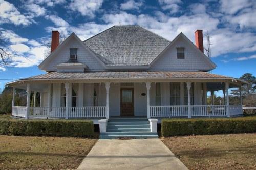 Parrott GA Historic District Queen Anne House Photograph Copyright Brian Brown Vanishing South Georgia USA 2016