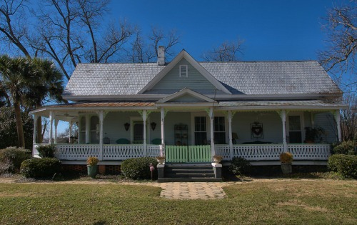 Parrott GA Terrell County Queen Anne House Photograph Copyright Brian Brown Vanishing South Georgia USA 2016