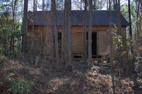 Pinkston Road Terrell County Abandoned Tenant Farmouse Photograph Copyright Brian Brown Vanishing South Georgia USA 2016