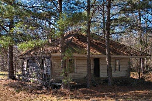 Tattnall County GA Vernacular Farmhouse Photograph Copyright Brian Brown Vanishing South Georgia USA 2016