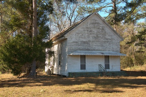Wrightsville GA Johnson County Unidentified Church Photograph Copyright Brian Brown Vanishing South Georgia USA 2016