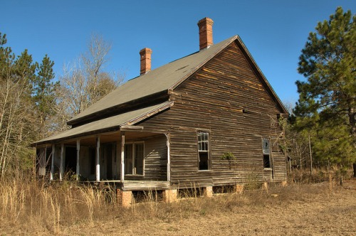 Lexsy GA Emanuel County 19th Century Farmhouse Photograph Copyright Brian Brown Vanishing South Georgia USA 2016