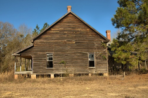 Lexsy GA Emanuel County Abandoned Farmhouse Photograph Copyright Brian Brown Vanishing South Georgia USA 2016